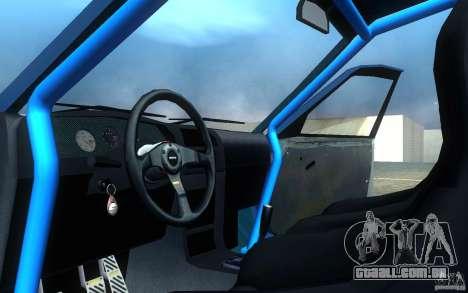 Nissan Pulsar GTI-R (RNN14) para GTA San Andreas vista interior