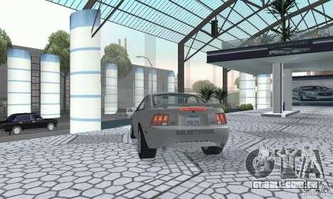 Ford Mustang GT 2003 para GTA San Andreas esquerda vista