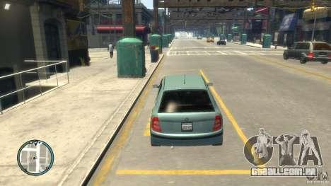 Skoda Fabia para GTA 4 vista interior