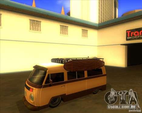 Volkswagen Kombi Classic Retro para GTA San Andreas