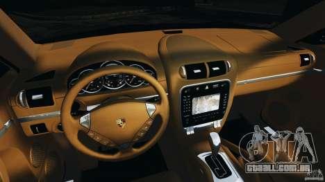 Porsche Cayenne Turbo 2003 para GTA 4 vista de volta