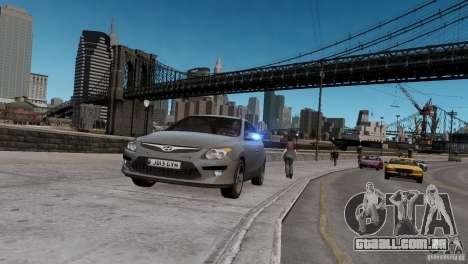 Hyundai i30 Unmarked para GTA 4
