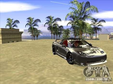 Acura NSX Tuned para GTA San Andreas vista interior