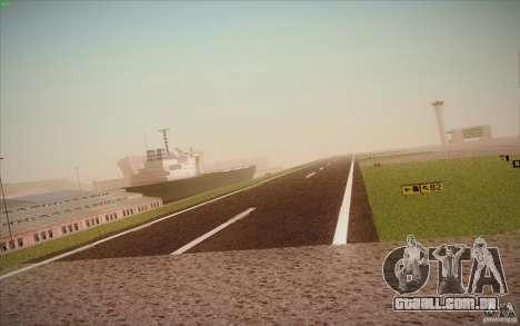 New San Fierro Airport v1.0 para GTA San Andreas oitavo tela