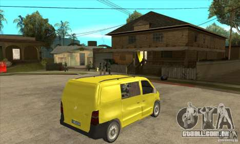 Mercedes-Benz Vito 112CDI para GTA San Andreas vista direita