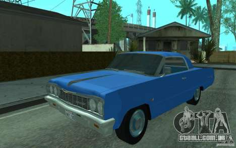Chevrolet Impala SS 1964 para GTA San Andreas esquerda vista