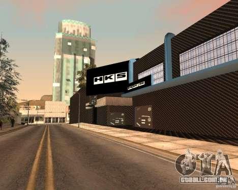 New HKS Style Tuning Garage para GTA San Andreas
