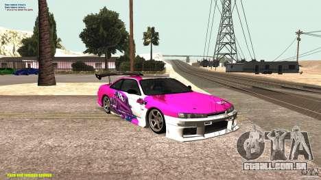 Nissan Silvia S14 kuoki RDS para GTA San Andreas
