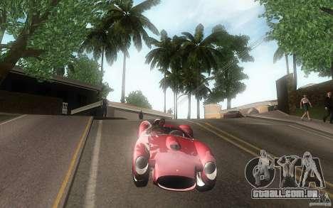 Ferrari 250 Testa Rossa para GTA San Andreas vista interior