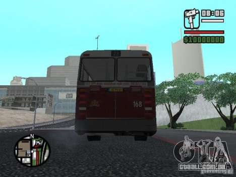 DAF CSA 1 City Bus para GTA San Andreas vista direita