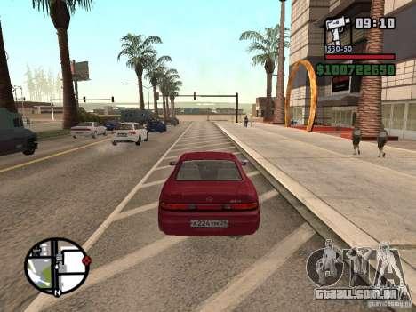 Toyota Mark II para GTA San Andreas esquerda vista