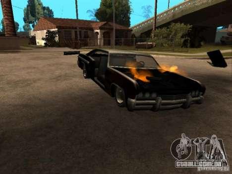 Wrecked car fix para GTA San Andreas
