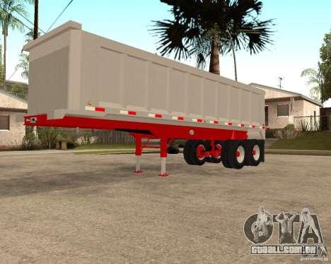 Artict3 Dump Trailer para GTA San Andreas