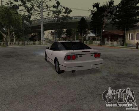 Nissan 240SX (stock) para GTA San Andreas esquerda vista