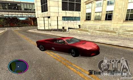 Axis Piranha Version II para GTA San Andreas vista direita