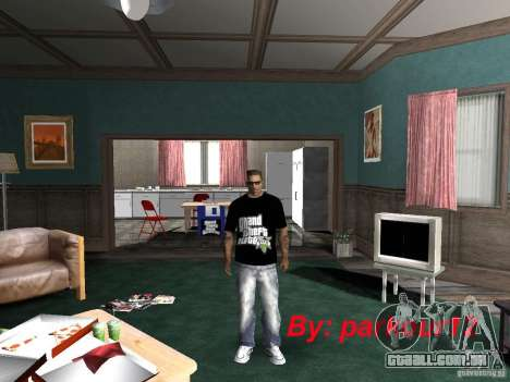 A t-shirt GTA 5 para GTA San Andreas