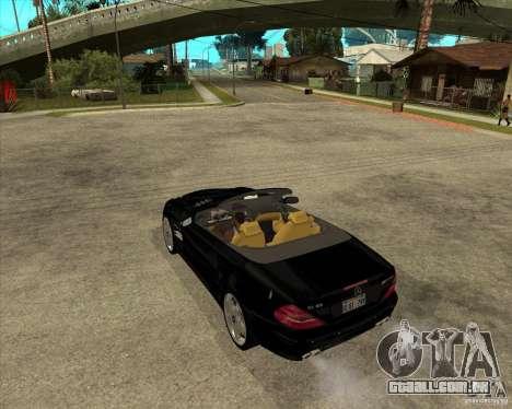 Mercedes Benz AMG SL65 V12 Biturbo para GTA San Andreas esquerda vista