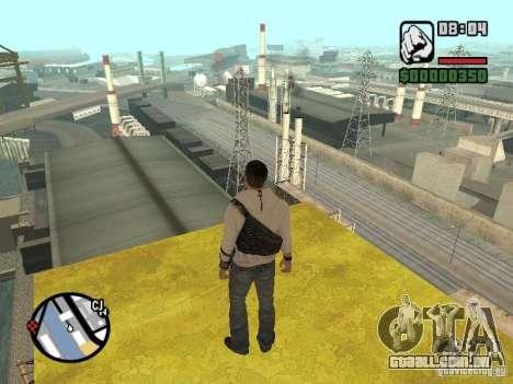 Desmond Miles para GTA San Andreas terceira tela
