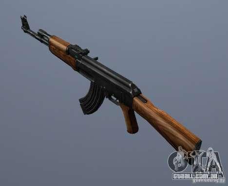 AK-47 para GTA San Andreas