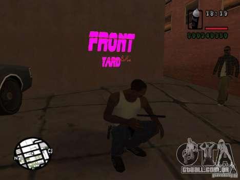 Novas gangues de pichação para GTA San Andreas terceira tela