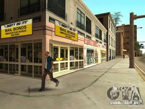 Novo centro de texturas Los Santos para GTA San Andreas sétima tela