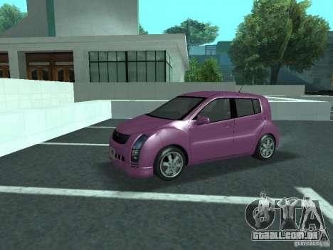 Toyota WiLL Cypha para GTA San Andreas vista interior