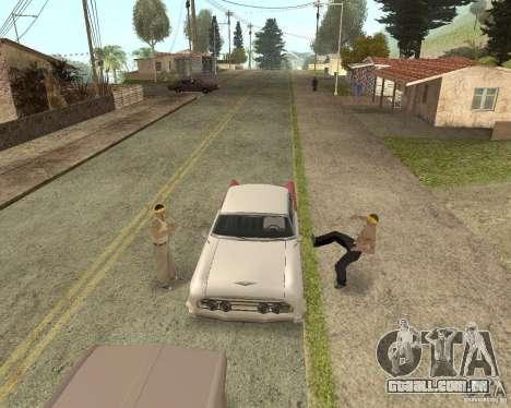 More Hostile Gangs 1.0 para GTA San Andreas nono tela