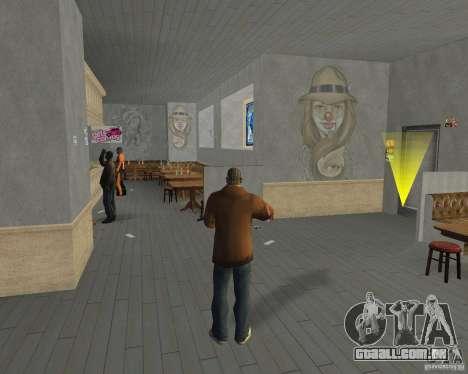 Novas texturas de restaurantes e lojas para GTA San Andreas nono tela