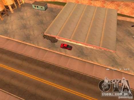 Previon GT para GTA San Andreas vista traseira