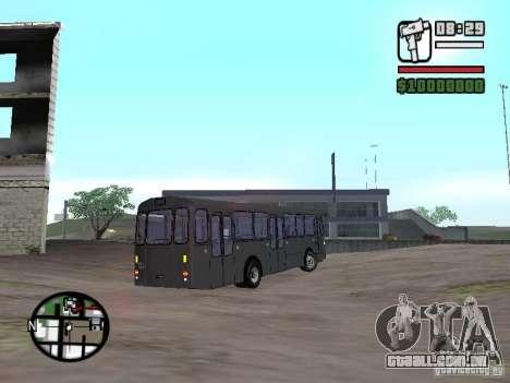 FBW Hess 91U para GTA San Andreas vista direita