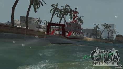 Ferry para GTA Vice City vista traseira esquerda