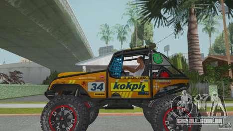 Jeep CJ-7 4X4 para GTA San Andreas esquerda vista