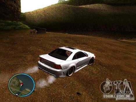 Saleen S281 para GTA San Andreas traseira esquerda vista