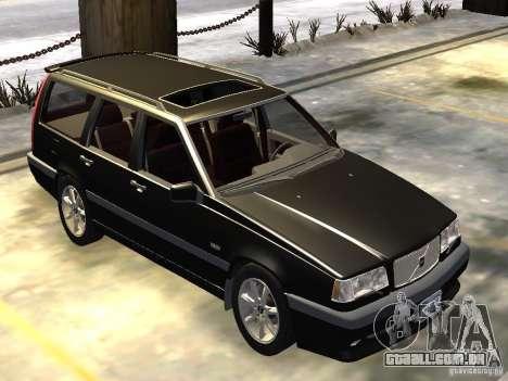 Volvo 850 R 1996 Rims 1 para GTA 4 esquerda vista