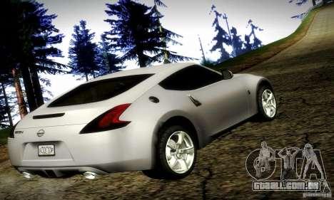 Nissan 370Z V2 para GTA San Andreas esquerda vista