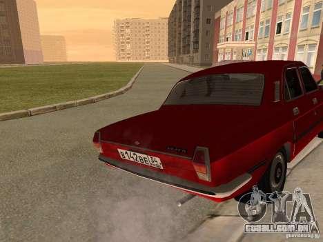 Volga GAZ 24-10 para GTA San Andreas vista direita