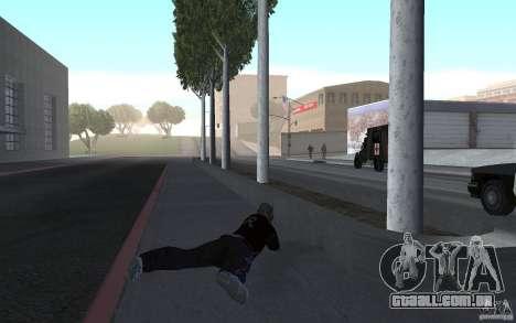 Nova animação tiro espingardas para GTA San Andreas