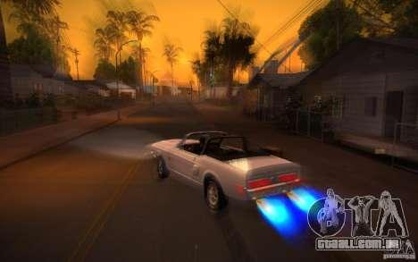 ENBSeries v. 1.0 por GAZelist para GTA San Andreas sétima tela