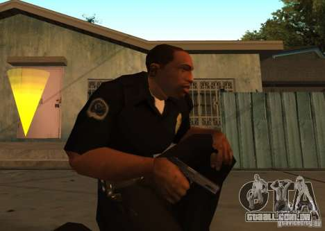 Armas de Pak interno atualizadas para GTA San Andreas segunda tela