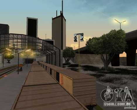 Nova estação ferroviária para GTA San Andreas décimo tela