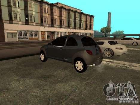 Ford Ka 1998 para GTA San Andreas esquerda vista