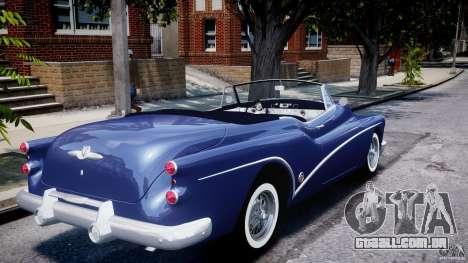 Buick Skylark Convertible 1953 v1.0 para GTA 4 vista inferior