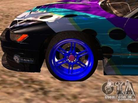 Nissan Sil80 Nate Hamilton para GTA San Andreas vista direita