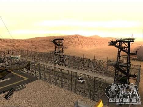 Prison Mod para GTA San Andreas twelth tela
