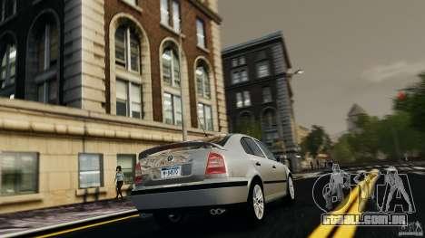 Skoda Octavia v.1.0 para GTA 4 vista direita