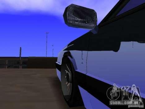Willard Drift Style para GTA San Andreas vista interior