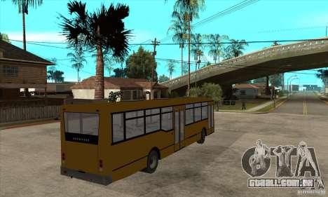 Volzhanin 52702 para GTA San Andreas vista direita