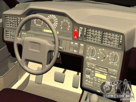 Volvo 850 R 1996 Rims 1 para GTA 4 vista de volta