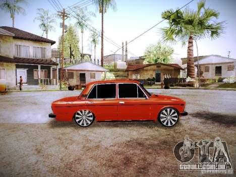 Fanta VAZ 2106 para GTA San Andreas esquerda vista