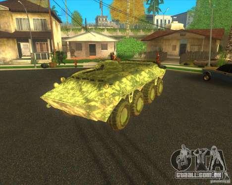 Camuflagem eletrônica BTR-80 para GTA San Andreas